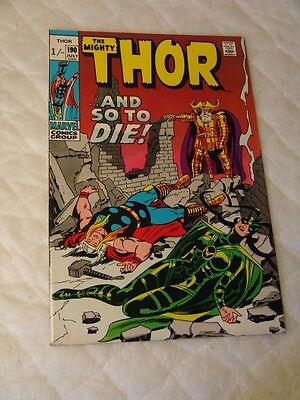 The Mighty Thor # 190