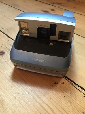 Polaroid ONE600 Compact Instant camera classic Blue/Black working