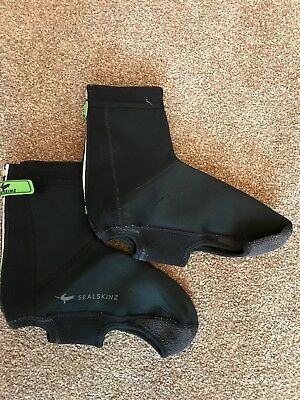 SealSkinz Open Sole Neoprene Cycling Overshoes - Size M - Used