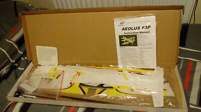 RC AEROBIC 3D SLOW FLY BIPE WITH ALL PARTS TO FLY./MOTOR/ESC/SERVOS etc.