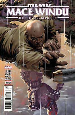 Star Wars Jedi Republic Mace Windu #3 (2017) 1St Printing Bagged & Boarded