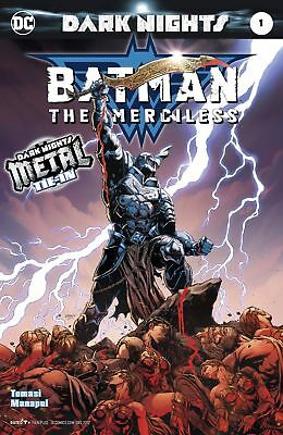 Batman The Merciless #1 (2017) 1St Print Dc Universe Rebirth Metal Tie-In