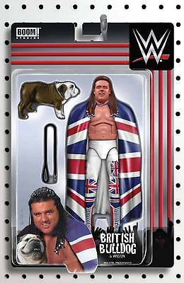 Wwe #10 (2017) Unlock Action Figure Variant Cover Bagged & Boarded Boom