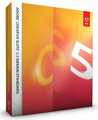 ADOBE Creative Suite CS5.5 Design Standard MAC deutsch Voll MWST BOX + Indesign