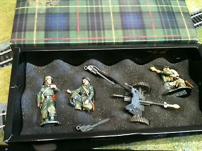 King And Country 37 Mm Anti Tank Gun And Crew