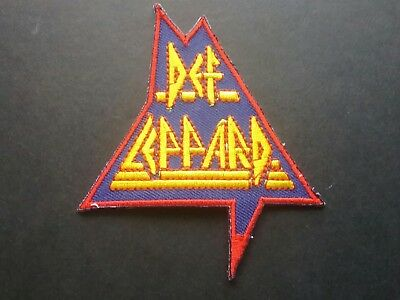 Def Leppard Sew or Iron On Patch