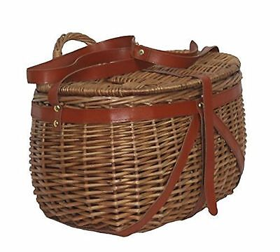 Willow Deluxe Fishing Tackle Creel Basket