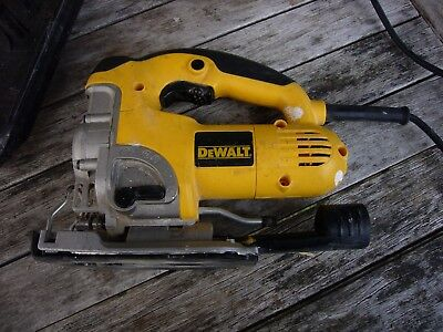 Dewalt DW331K Jigsaw 240 volt - Heavy Duty Top Handle - Inc Case
