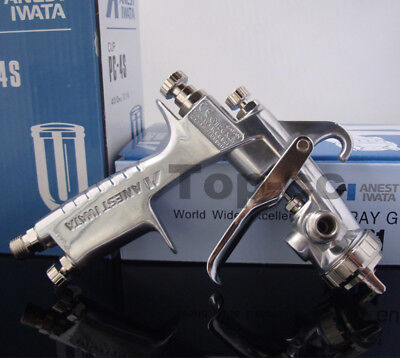 New Pro ANEST IWATA SPRAY GUN W-101 Gravity Feed Paint Spray Gun 1.3mm H4 & Cup