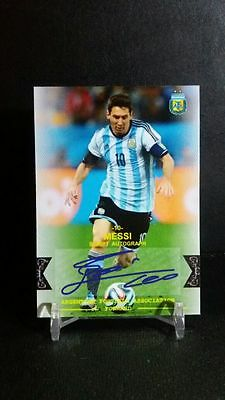 2016 SC4H Barcelona Player Auto Print #10 Lionel Messi (Made in Indonesia)
