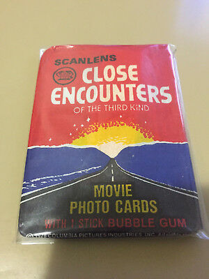 Scanlens - Close Encounters - Sealed Card Pack - 1978
