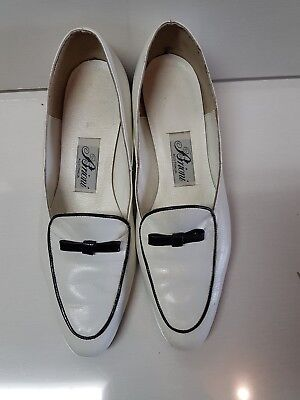 Real Vintage white shoes approx size 7
