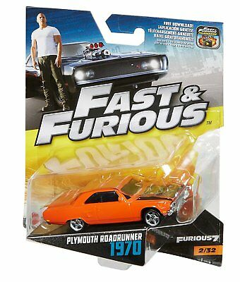 Fast & Furious – Plymouth Roadrunner 1970 – Die-Cast Modell