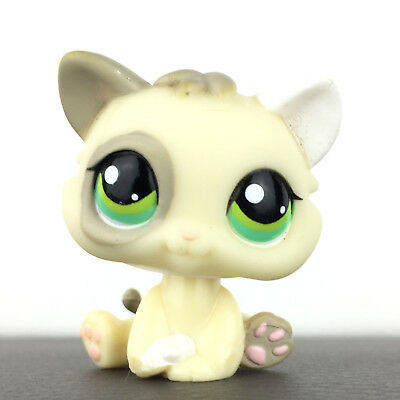 Authentic Littlest Petshop 1074 Cat Baby Kitten Kitty Chat Chaton LPS Pet Shop.