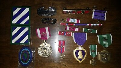 US Military Medals and Ribbons Lot