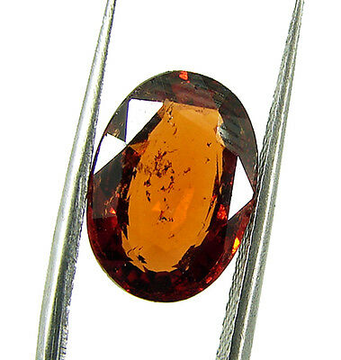 4.55 Ct Certified Natural Ceylon Hessonite/Gomed Loose Gemstone Stone - 44373