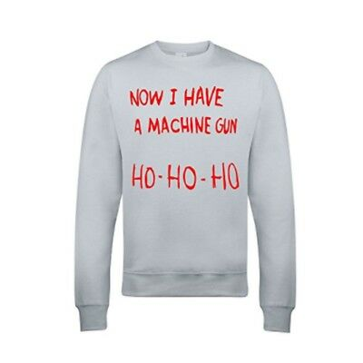 Ho Ho Ho Now I Have A Machine Gun Sweatshirt - Inspired By Die Hard - S to 3XL