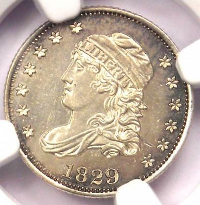 1829 Capped Bust Half Dime H10C Coin - NGC Uncirculated Details (UNC MS)!