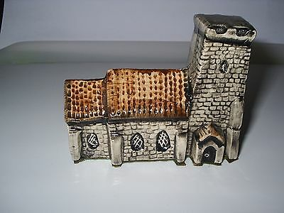 """SQUARE TOWER CHURCH""   (Tey Pottery)"