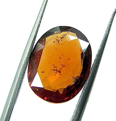 4.85 Ct Certified Natural Ceylon Hessonite/Gomed Loose Gemstone Stone - 44371