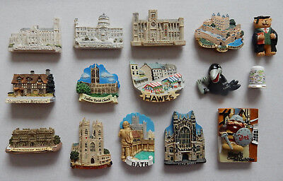 One Selected 3D Souvenir Fridge Magnet from England Places of Interest