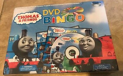 Thomas & Friends DVD Bingo Game New Factory Sealed w/ TV Show Clips