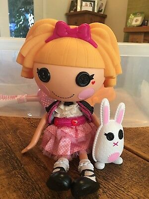 "LALALOOPSY Misty Mysterious - 12"" DOLL with rabbit."
