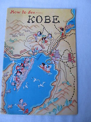 1930's Tourist Brochure 'How to See Kobe'
