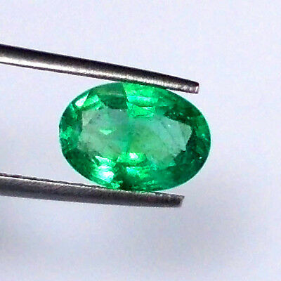 2.49Ct Natural Emerald Oval ~ Beautiful Collection Aaa Super Fire ~ Fine Quality