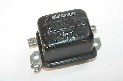 Regulateur 12V Motorcraft Egr 22 36.035...ford Mazda