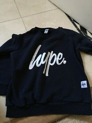 Boys hype jumper aged 11-12 Navy
