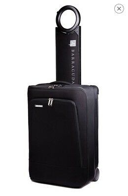 Barracuda, Inc Midnight Black Collapsible Carry-on Luggage