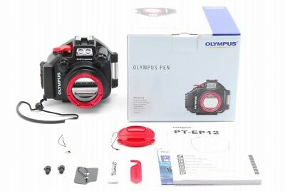 【A- Mint in Box】 OLYMPUS PT-EP12 Underwater Housing for E-PL7 From JAPAN R3379