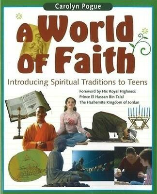 NEW A World Of Faith by Carolyn Pogue BOOK (Paperback) Free P&H