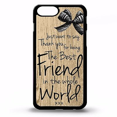 premium selection 30874 9e844 WORLDS BEST FRIEND BFF friends forever quote phrase cute gift phone case  cover