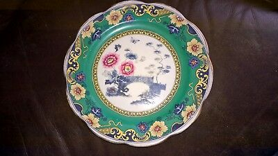 Vintage Antique Rare Losol Ware Langham  Keeling & Co Ltd Burslem Plate 9""