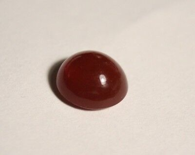 3.89ct Mexican Fire Opal Cabochon - Top Cherry Red