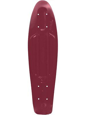 Penny Cruiser Deck Classic Series - 22 Inch Maroon