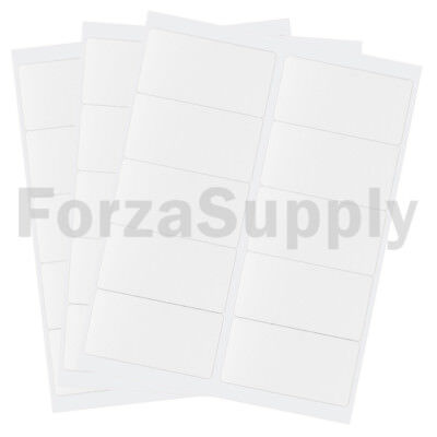 """(10000) 4 x 2 """"EcoSwift"""" Laser/Ink Address Shipping Adhesive Labels 10 per sheet"""