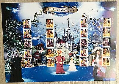 2008 LS54 Christmas - Smiler Sheet. MNH.