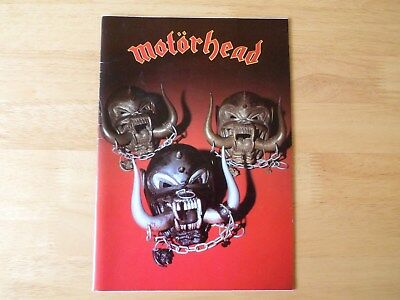 Motorhead - Iron Fist Tour Programme - signed / autographed - all 3