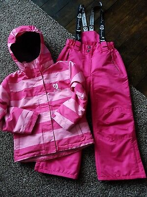 Girl's matching ski suit by Surfanic age 5-6 years