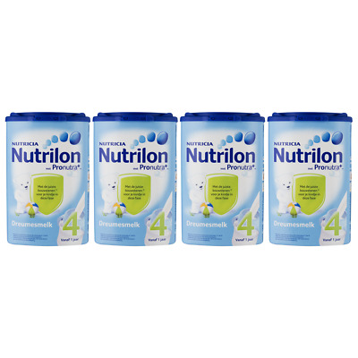 Nutrilon Dreams Milk 4 Childeren Age 1+  4 X 800G / 28.2oz Baby Milk