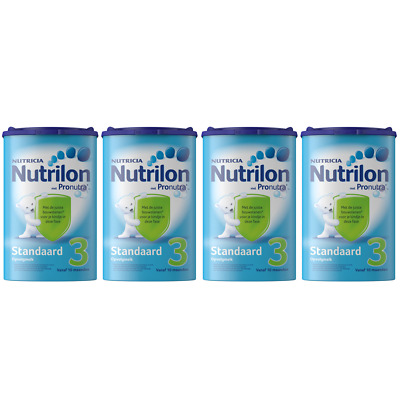 Nutrilon Follow-up Milk Standard 3 4 X 800G / 28.2oz 100% ORIGINAL Baby 10M +