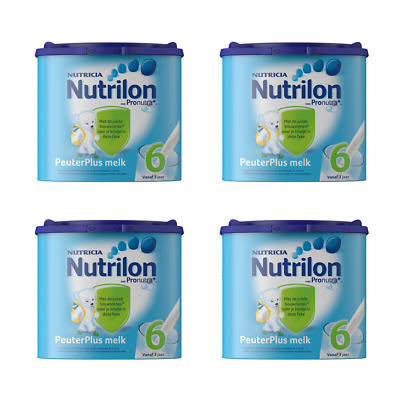Nutrilon Peuterplus Milk 6 4 X 400G / 14.1oz 100% ORIGINAL DUTCH Baby Age 3+