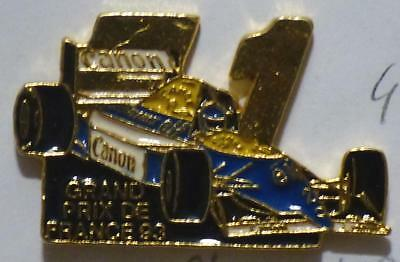 pin's JP PINS VOITURE F1 RENAULT