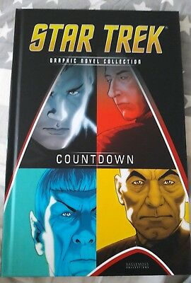 star trek graphic novel collection countdown hardback sci-fi tng tos