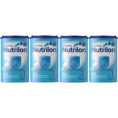 Nutrilon Infant Formula HA 1 4 X 750G / 26.4oz 100% ORIGINAL DUTCH Baby Age 0-6M
