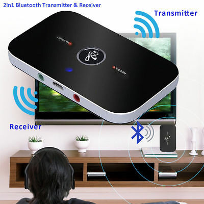 2in1 Wireless Bluetooth Transmitter TV Stereo Audio  & Sender Adapter