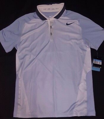 Bnwt Roger Federer Polo 2013 Us Open Cincinnati Medium Nike Tennis Rf